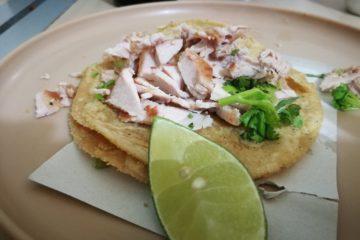 Tacos de carnitas La Negrita