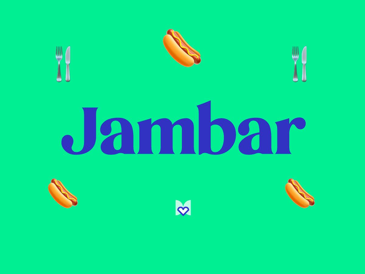 Jambar significado frase mexicana mexicanismo