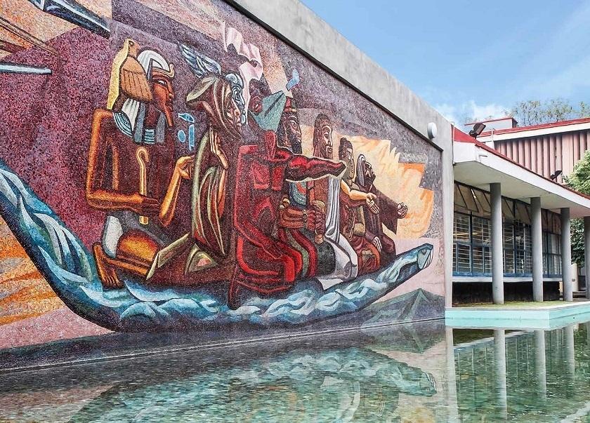 Visitas Guiadas Por Los Murales De Ciudad Universitaria Mexico Chulo