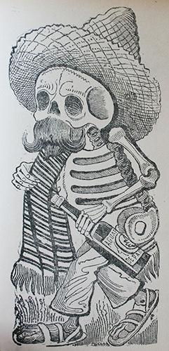Calavera Maderista. José Guadalupe Posada.