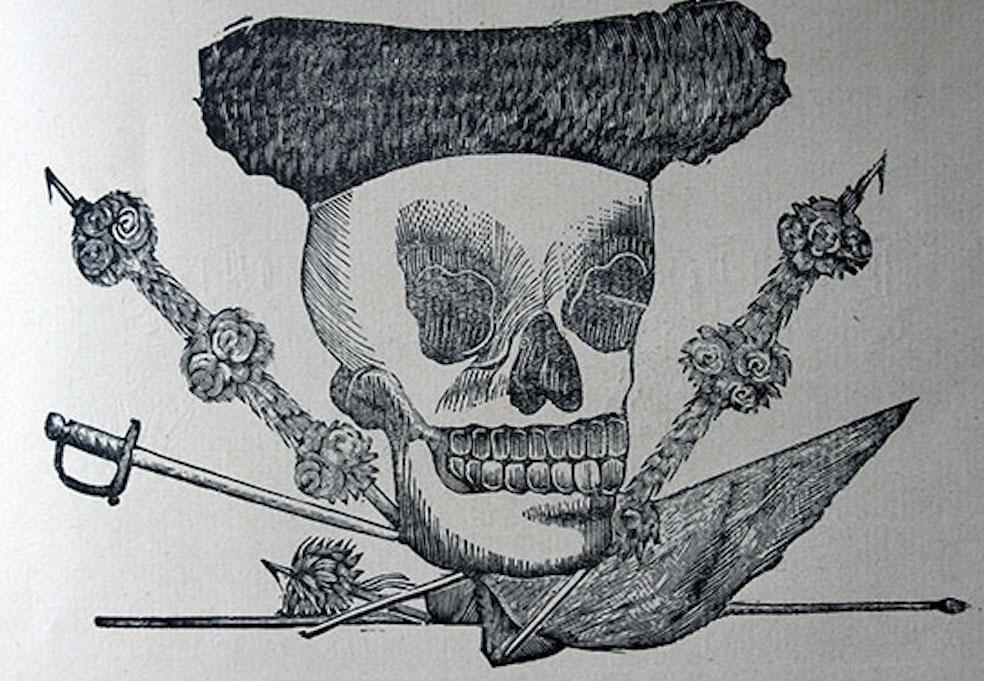 Calavera Sevillana o Poncianista. José Guadalupe Posada.