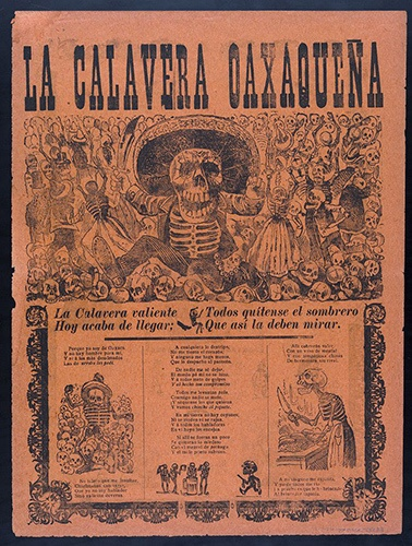 La Calavera Oaxaqueña. José Guadalupe Posada.