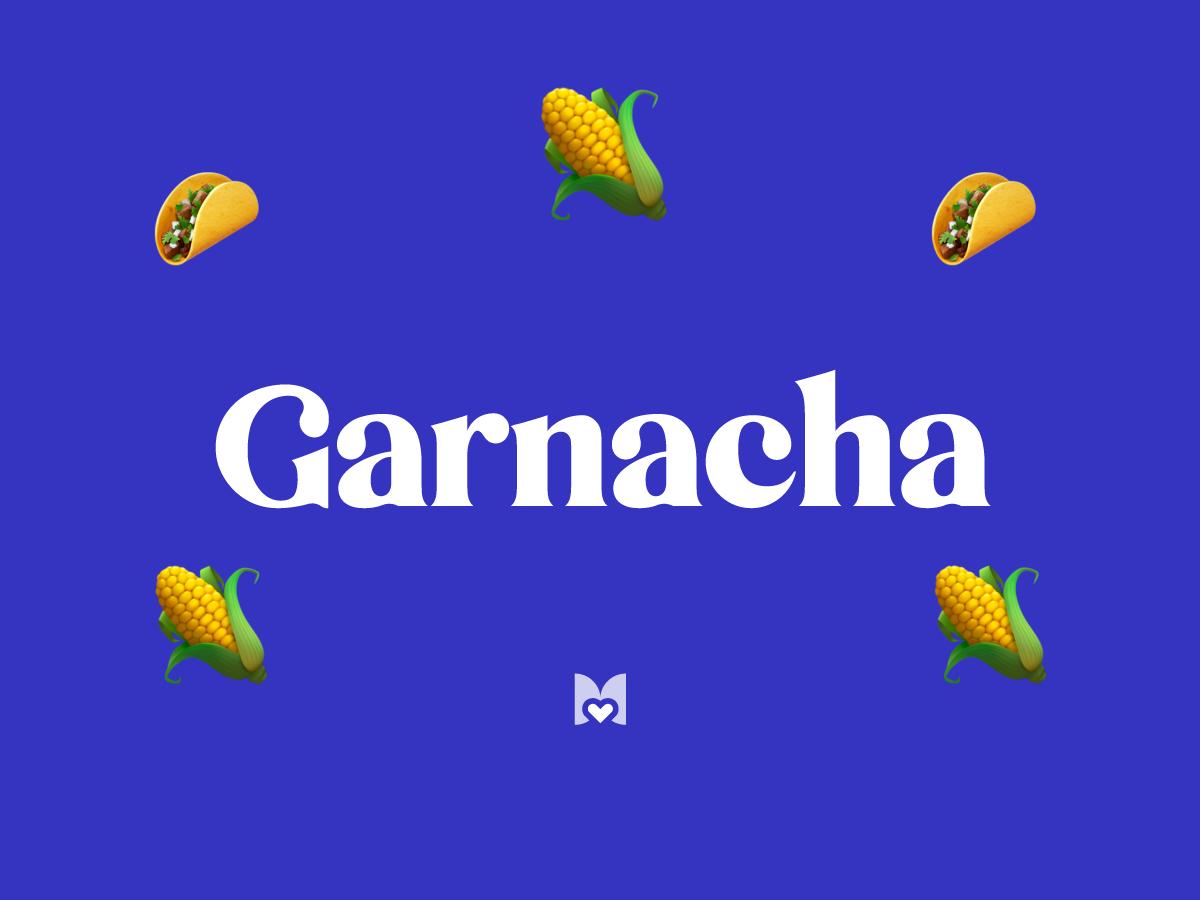 Garnacha significado frase mexicana Mexicanismo