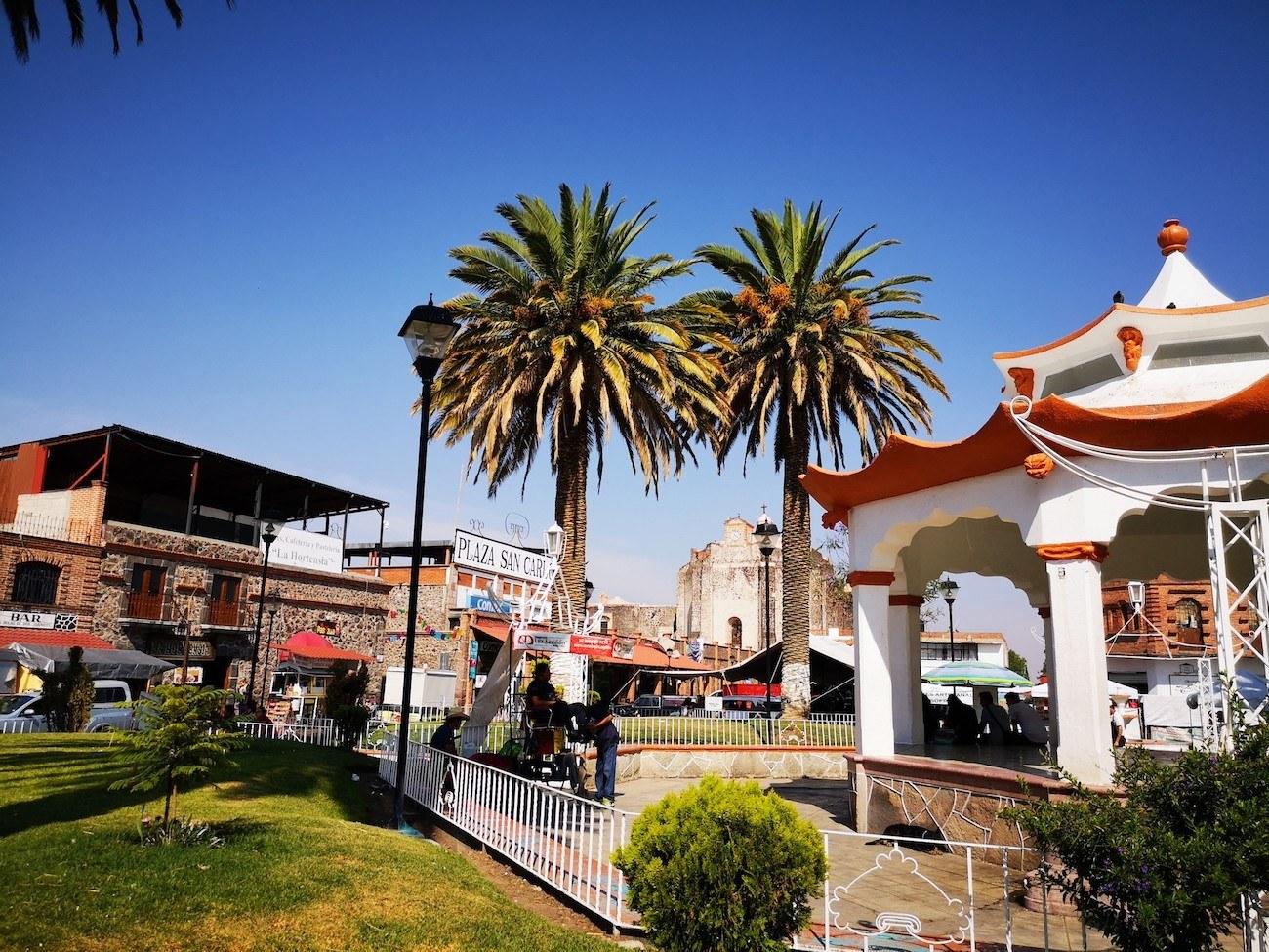 Kiosco Villa de Tezontepec