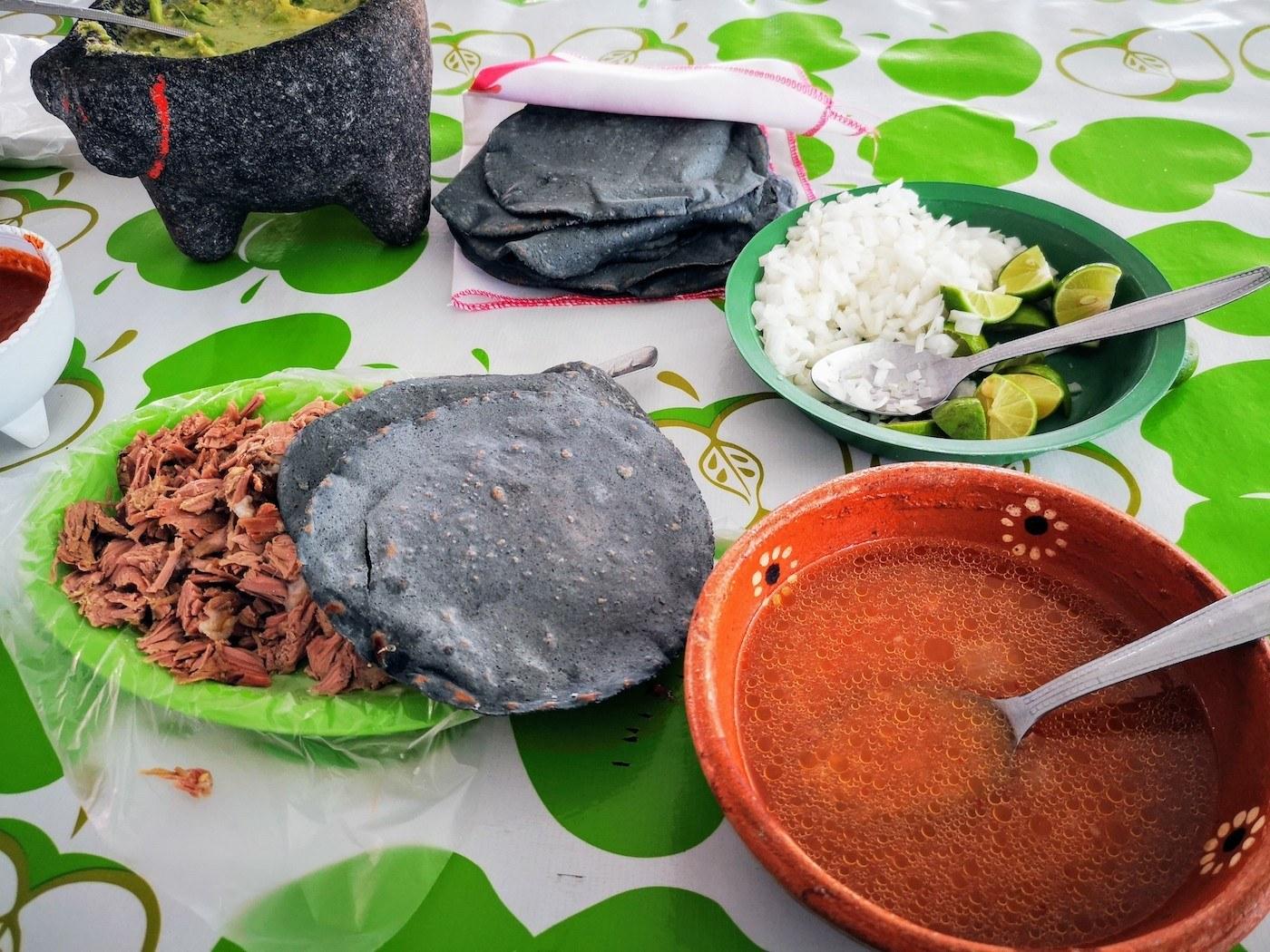 Barbacoa en Villa de Tezontepec