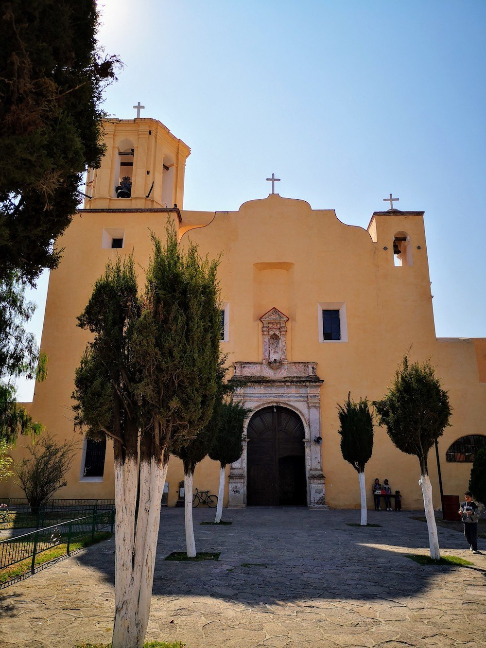 Iglesia y ex convento Villa de Tezontepec